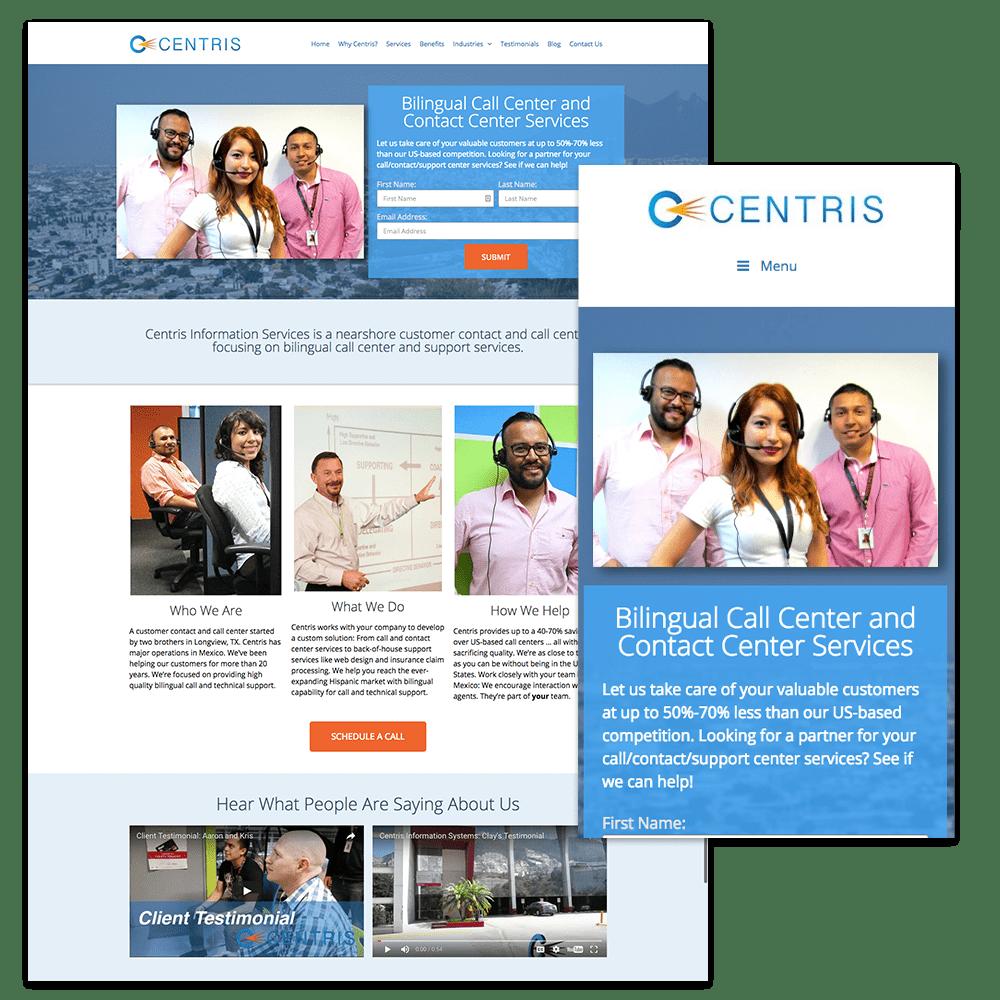centris web design